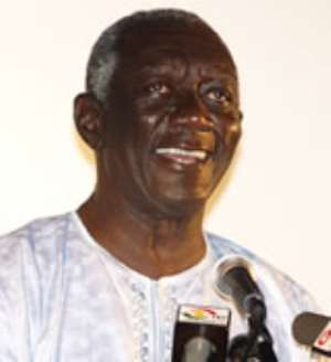 Ex-President Kufuor to remain in Ridge 'office'